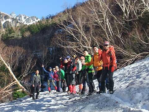 山の学校「槍ヶ岳/雪山の初歩」