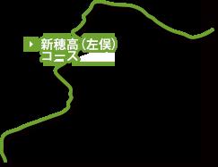 新穂高(左俣)コース